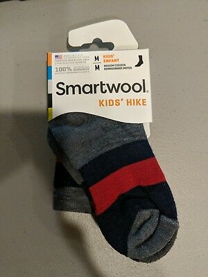 Smartwool Kids's Hike Size Medium Socks, New, Medium Cushion