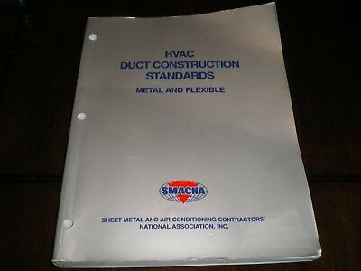 HVAC Duct Construction Standards - Metal and Flexible Smacna 1998 2nd Edition