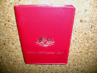 Royal Australien Mint Coin Set in Red Case 1983 (1 - 50 Cent) Top-Zustand!