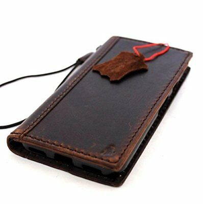 retro genuine real leather case for Google Pixel XL 2 book wallet cover strap