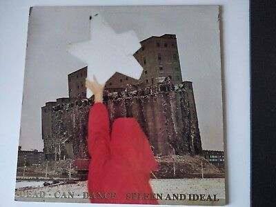 Dead Can Dance - Spleen And Ideal LP 1985 CAD512/4AD