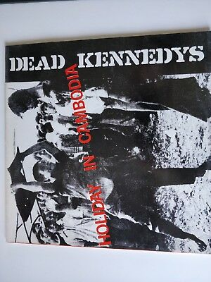 """DEAD KENNEDYS - Holiday in Cambodia LP/Vinyl Single 12"""" 1980"""