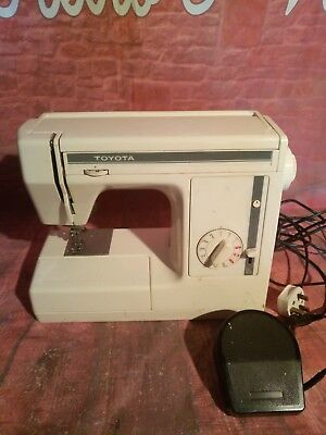 Vintage Retro Toyota Electric Sewing Machine EX1 Series