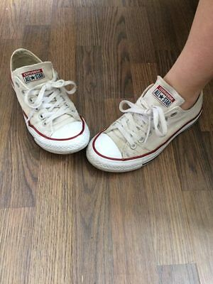 Private listing well worn womens converse size 5