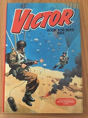 Victor Book For Boys Annual 1982 Unclipped