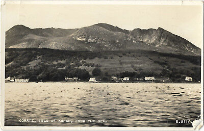 Scotland Isle of Arran Corrie 2 Real Photo Vintage Postcards 18.10