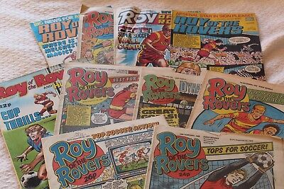Roy of the Rovers Comics - 1980's
