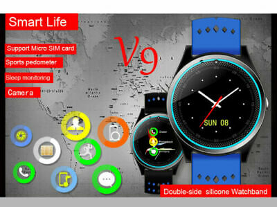 Bluetooth Smart Bracelet Watch Pedometer Blood Pressure Wristband Waterproof Y5V
