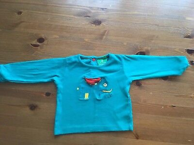 Little Green Radicals 6-9 Months Top Boy Girl Unisex