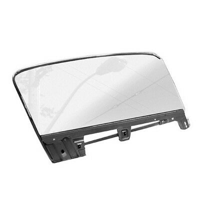 67 - 68 Mustang Fastback Door Window Glass Kit - Clear / Right / Passenger Side