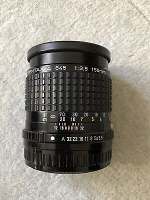 Smc Pentax A 645 150Mm F3.5 Lens In Excellent Condition Pentax 645 Mount