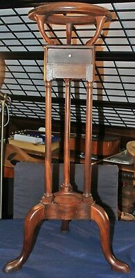 The Bartley Collection Furniture Custom Wig plant stand Cherry wood w drawer