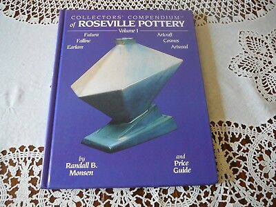 1995 P/O Collectors' Compendium of Roseville Pottery Vol. 1   Monsen, Randall