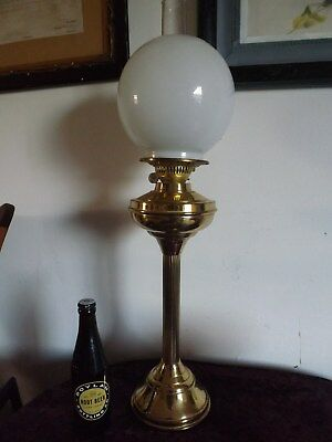 antigue oil lamp
