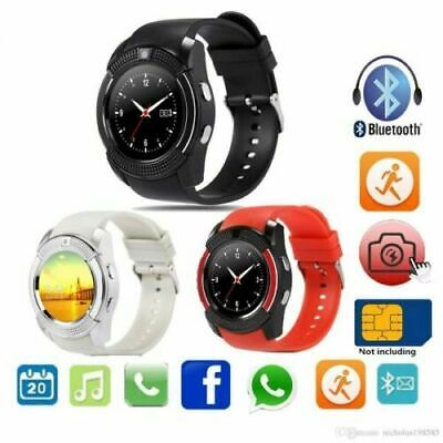 Bluetooth Smart Watch Android Waterproof Heart Rate Blood Pressure Monitor Sport