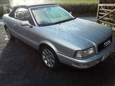 2000 W Audi 80 Cabriolet/convertible 2.6 Final Edition,silver,leather,p/roof Fsh