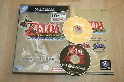 Gamecube Legend Of Zelda The Windwaker Limited Edition 2 Disc (Pal) Complete