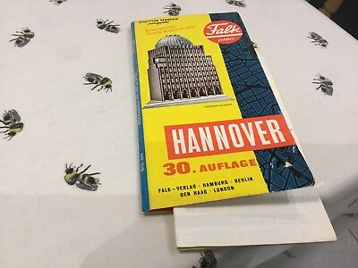 Vintage Street Map Of Hanover