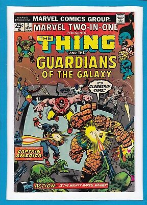 Marvel Two-In-One #5_September 1974_Vf/nm_Thing_Guardians Of The Galaxy!