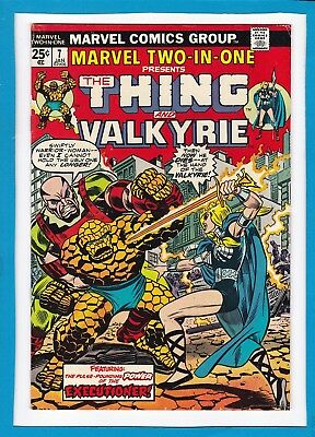 Marvel Two-In-One #7_January 1975_Fine_The Thing & Valkyrie_Bronze Age Marvel!