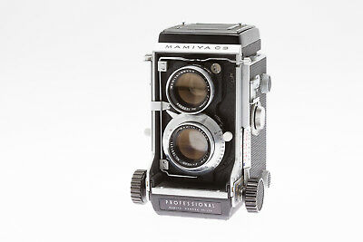 Mamiya C3 Professional.  A1960's TLR Camera with 105mm f3.5 Lens in Exc ++ Cond.