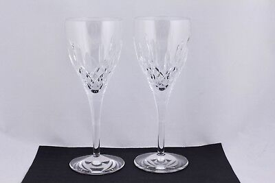 Set Of 2 Waterford Crystal Lismore 50Th Red Wine Glasses – New In Original Box