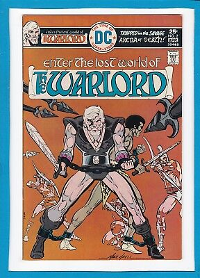 """Warlord #2_April 1976_Very Fine_""""arena Of Death""""_Bronze Age Sword & Sorcery!"""