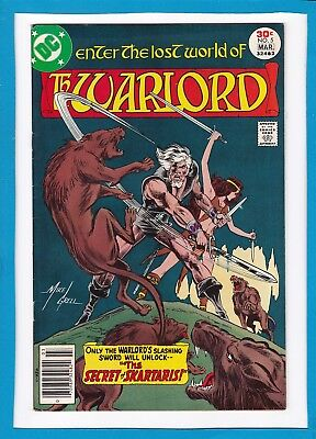 """Warlord #6_May 1977_Very Fine Minus_""""home Is A Four Letter Word""""_Bronze Age Dc!"""
