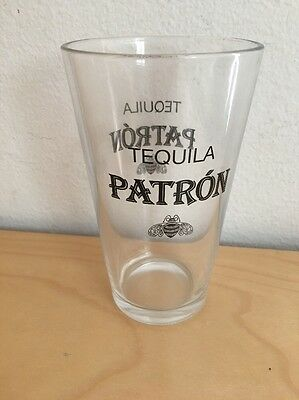 Patron Tequila Bar Pint Glass Brand New Nice