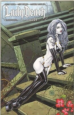Lady Death Ongoing #21 Sultry Limited Variant NM ULTRA RARE Pulido