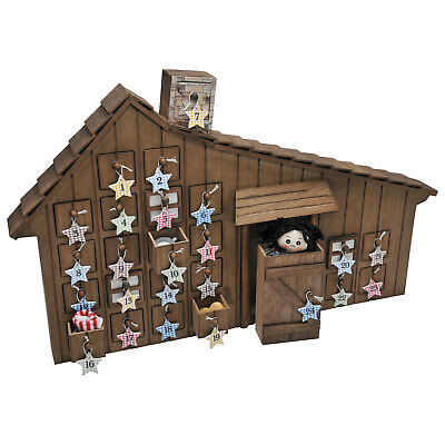 Little House on The Prairie Advent Calendar -Converts to Wall Hanging NEW!