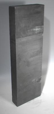 "Nuclear Graphite Block TSX NCCo 4 x 2 ¾ x 20 ½"" 14 Pounds"