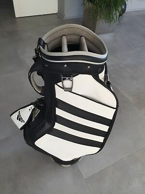 !!! Adidas TOUR BAG Weiss/Schwarz Golf Staff Bag !!!