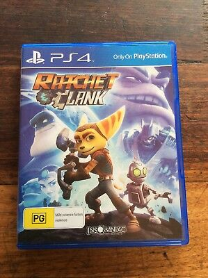 RATCHET & CLANK Game (Playstation 4, PS4) Australian PG Rating