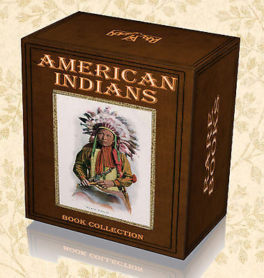 340 American Indian Books on DVD - Tribes Chiefs Legend Myth Tales Apache A1