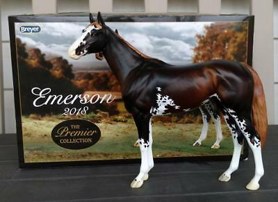"Breyer 2018 Premier Club Sabino Thoroughbred Stallion ""Emerson"". New Mold! NIB!"