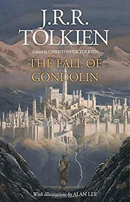 The Fall Of Gondolin Ed Christopher Tolkien Ill by Alan Lee Signed 1st