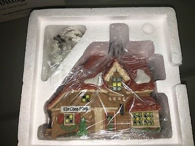 Dickens Village THE CHOP SHOP #58331 Department 56 NEW IN BOX