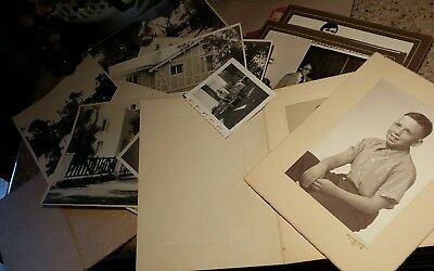 Lot of 15 Found Old Photos Vintage Snapshots