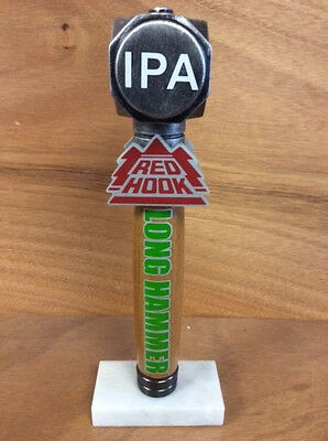 "Redhook Red Hook Long Hammer IPA Beer Tap Handle VGC & Free Ship - 10.5"" Rare"