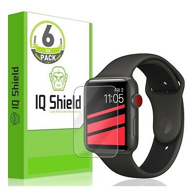 Apple Watch Screen Protector (42mm Series 3/2/1 Compatible)(6-Pack), IQ Shield