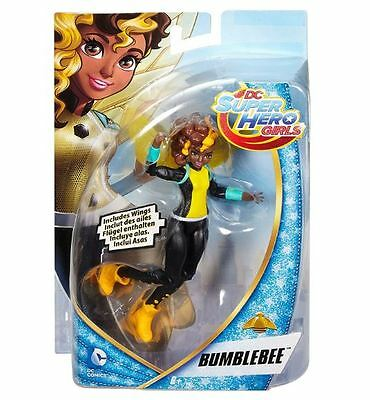 "Dc Super Hero Girls Bumblebee 6"" Action Figure- Free Shipping"