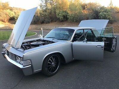 "1965 Lincoln Continental Fresh Restoration *LOW MILES* 1965 Lincoln Continental Suicide ""Silver Surfer"""