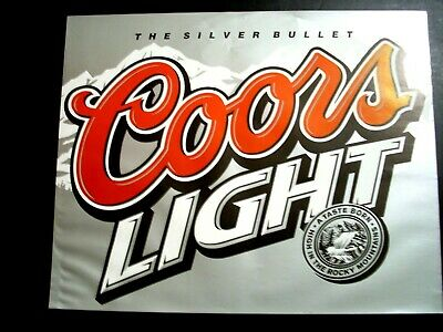 COORS Light The Silver Bullet 16x20 Poster