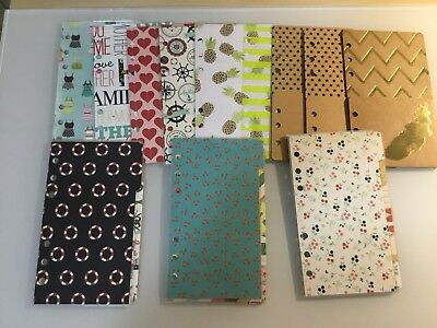 Personal Planner Dashboards, Dividers, & Folders for Filofax, Kikki K Medium