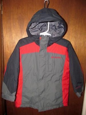 Columbia Omni-Shield Insulated Hooded Jacket Parka Toddler's Sz 4T GC