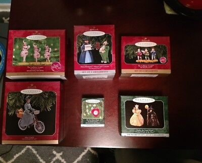 Lot Of 6 Wizard Of Oz Hallmark Keepsake Christmas Ornaments New