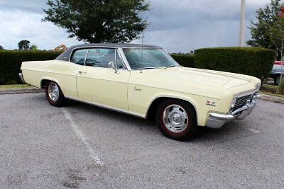 1966 Chevrolet Caprice 396 1966 Caprice Brass hat every option available