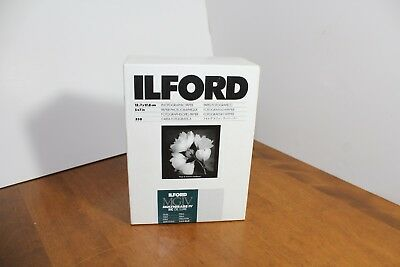 """Ilford Multigrade IV RC DeLuxe Paper, Pearl 5 x 7"""" 250 Sheets New"""