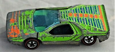 Hot Wheels Redline 1969 Carabo - Green with Graphics